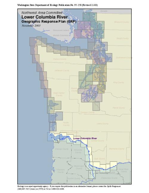 Columbia Pacific BioRefinery proposed oil spill contingency plan