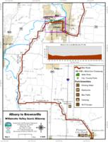 Willamette Valley Scenic Bikeway Albany to Brownsville Map 3