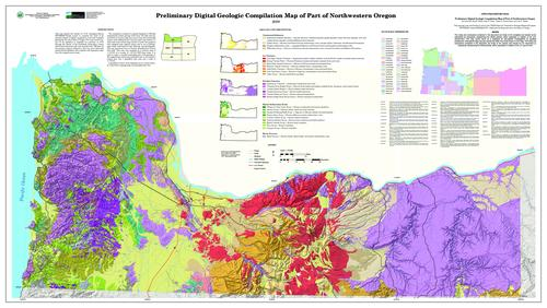 Preliminary digital geologic compilation map of part of