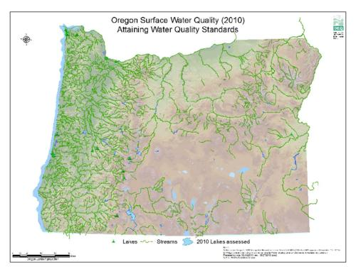 Oregon surface water quality 2010 Oregon State Library