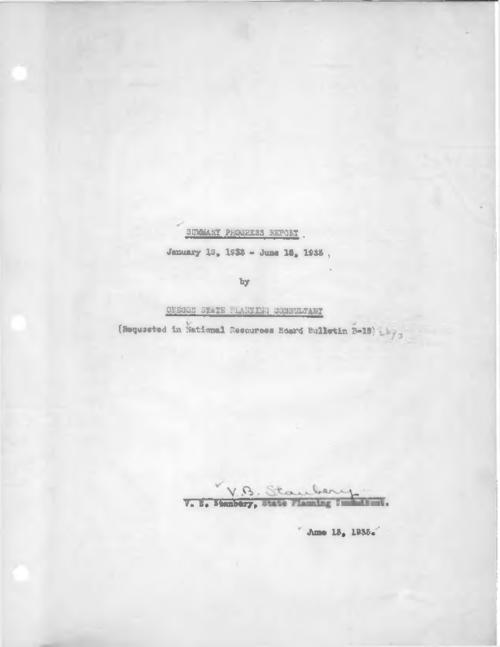 """(Requested in National Resources Board Bulletin B-18)""--Cover., Typescript, carbon copy., Title from PDF cover (viewed on October 30, 2017)., This archived document is maintained by the State Library of Oregon as part of the Oregon Documents Depository Program. It is for informational purposes and may not be suitable for legal purposes., Mode of access: Internet from the Oregon Government Publications Collection., Text in English."