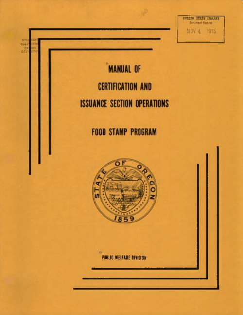 Title from PDF cover (viewed on October 30, 2017)., This archived document is maintained by the State Library of Oregon as part of the Oregon Documents Depository Program. It is for informational purposes and may not be suitable for legal purposes., Mode of access: Internet from the Oregon Government Publications Collection., Text in English.