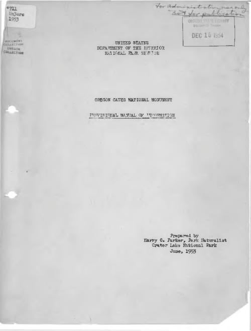 Title from PDF caption (viewed on October 30, 2017)., This archived document is maintained by the State Library of Oregon as part of the Oregon Documents Depository Program. It is for informational purposes and may not be suitable for legal purposes., Mode of access: Internet from the Oregon Government Publications Collection., Text in English.