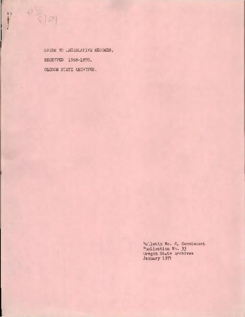 Title from PDF cover (viewed on November 14, 2017)., This archived document is maintained by the State Library of Oregon as part of the Oregon Documents Depository Program. It is for informational purposes and may not be suitable for legal purposes., Mode of access: Internet from the Oregon Government Publications Collection., Text in English.