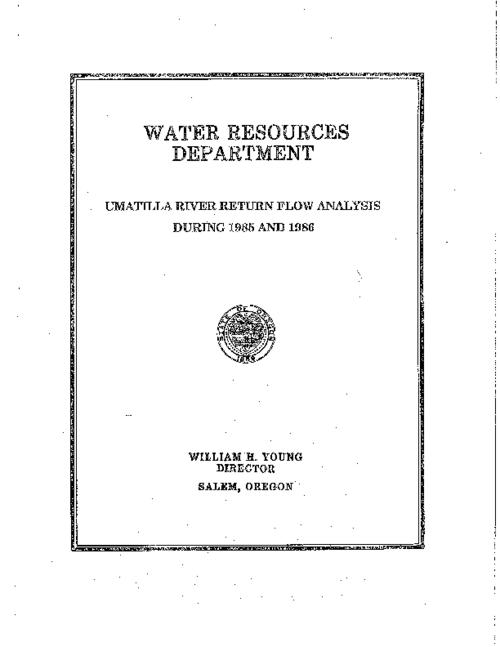 Title from PDF title page (viewed on November 27, 2017)., This archived document is maintained by the State Library of Oregon as part of the Oregon Documents Depository Program. It is for informational purposes and may not be suitable for legal purposes., Mode of access: Internet from the Oregon Government Publications Collection., Text in English.