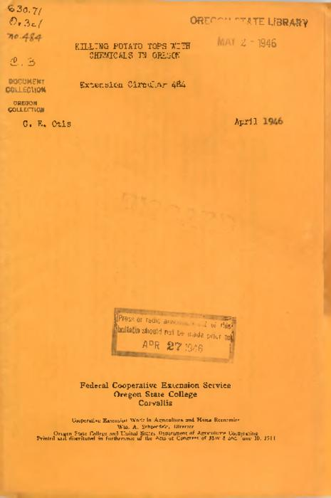 Title from PDF caption (viewed on December 7, 2017)., This archived document is maintained by the State Library of Oregon as part of the Oregon Documents Depository Program. It is for informational purposes and may not be suitable for legal purposes., Mode of access: Internet from the Oregon Government Publications Collection., Text in English.