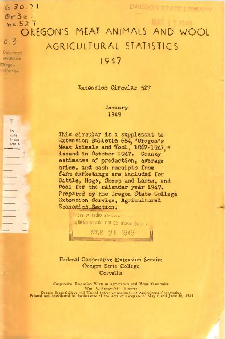 Title from PDF cover (viewed on December 7, 2017)., This archived document is maintained by the State Library of Oregon as part of the Oregon Documents Depository Program. It is for informational purposes and may not be suitable for legal purposes., Mode of access: Internet from the Oregon Government Publications Collection., Text in English.