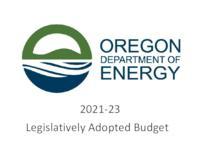 ... legislatively adopted budget