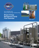 Biogas energy management study final submittal: City of Klamath Falls, Spring...