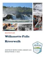 Willamette Falls riverwalk master plan, Willamette Falls legacy project
