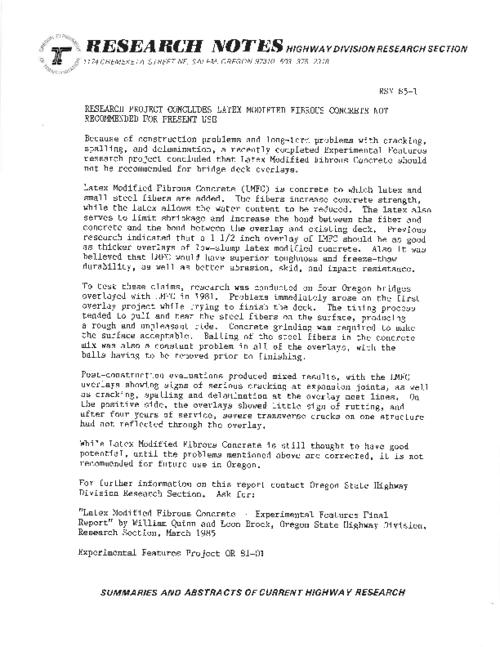 This archived document is maintained by the Oregon State Library as part of the Oregon Documents Depository Program.  It is for informational purposes and may not be suitable for legal purposes., Title from PDF caption (viewed on May 25, 2011), Mode of access: Internet from the Oregon Government Publications Collection.