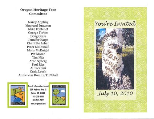 "Title from PDF cover (viewed on January 18, 2018)., ""Saturday the 10th of July 2010 at 2:00 pm, Fish Lake Campground."", This archived document is maintained by the State Library of Oregon as part of the Oregon Documents Depository Program. It is for informational purposes and may not be suitable for legal purposes., Mode of access: Internet from the Oregon Government Publications Collection., Text in English."