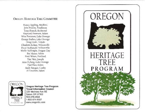 Title from PDF cover (viewed on January 18, 2018)., Program for the dedication ceremony of the Giant Spruce of Cape Perpetua., This archived document is maintained by the State Library of Oregon as part of the Oregon Documents Depository Program. It is for informational purposes and may not be suitable for legal purposes., Mode of access: Internet from the Oregon Government Publications Collection., Text in English.