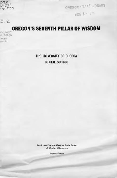 "Title from PDF cover (viewed on January 24, 2018)., ""Address delivered at the North Pacific College graduation exercises June 26, 1945."", This archived document is maintained by the State Library of Oregon as part of the Oregon Documents Depository Program. It is for informational purposes and may not be suitable for legal purposes., Mode of access: Internet from the Oregon Government Publications Collection., Text in English."