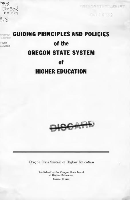 Title from PDF cover (viewed on January 24, 2018)., This archived document is maintained by the State Library of Oregon as part of the Oregon Documents Depository Program. It is for informational purposes and may not be suitable for legal purposes., Mode of access: Internet from the Oregon Government Publications Collection., Text in English.