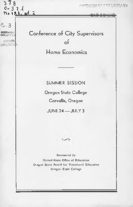 Title from PDF cover (viewed on January 30, 2018)., This archived document is maintained by the State Library of Oregon as part of the Oregon Documents Depository Program. It is for informational purposes and may not be suitable for legal purposes., Mode of access: Internet from the Oregon Government Publications Collection., Text in English.