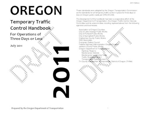"This archived document is maintained by the Oregon State Library as part of the Oregon Documents Depository Program.  It is for informational purposes and may not be suitable for legal purposes., Title from PDF cover (viewed on April 15, 2014), ""Draft""--Watermark, Includes index, Mode of access: Internet from the Oregon Government Publications Collection., Text in English"