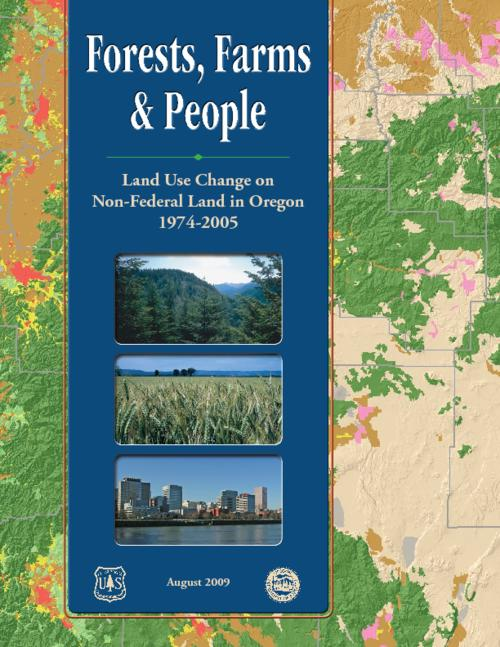"""August 2009."", ""Prepared with support from the USDA Forest Service, Forest Inventory and Analysis Program, Pacific Northwest Research Station, and the Oregon Department of Forestry."", This archived document is maintained by the State Library of Oregon as part of the Oregon Documents Depository Program. It is for informational purposes and may not be suitable for legal purposes., Includes bibliographical references (page 50)., Also available online at the Oregon Documents Repository."