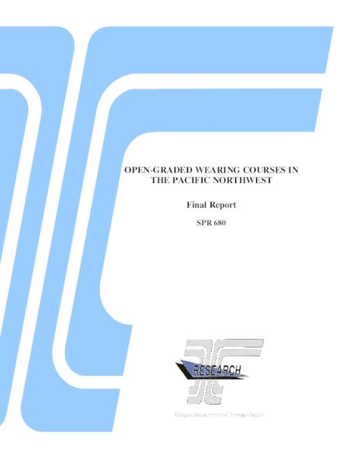 "This archived document is maintained by the Oregon State Library as part of the Oregon Documents Depository Program.  It is for informational purposes and may not be suitable for legal purposes., OrDocs shipping list 2011-14, Title from PDF title page, ""June 2011."", ""FHWA-OR-RD-17""--Technical report documentation page, Includes bibliographical references (p. 103-110), Sponsored by Oregon Dept. of Transportation, Research Section; Federal Highway Administration SPR 680, Mode of access: Internet from the Oregon Government Publications Collection., Final report"