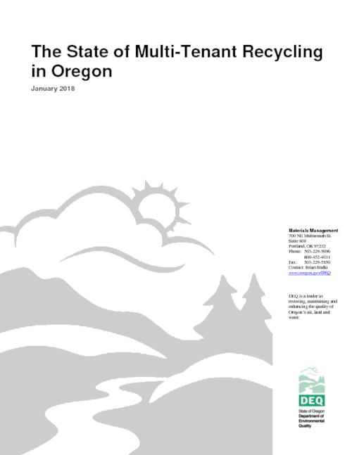 Title from PDF cover (viewed on February 14, 2018)., This archived document is maintained by the State Library of Oregon as part of the Oregon Documents Depository Program. It is for informational purposes and may not be suitable for legal purposes., Includes bibliographical references (page 23)., Mode of access: Internet from the Oregon Government Publications Collection., Text in English.