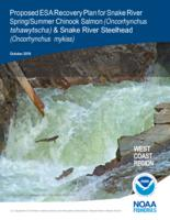 Proposed ESA recovery plan for Snake River spring/summer Chinook salmon (Oncorhynchus...