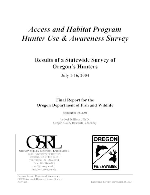 Title from PDF title page (viewed on February 27, 2018)., This archived document is maintained by the State Library of Oregon as part of the Oregon Documents Depository Program. It is for informational purposes and may not be suitable for legal purposes., Mode of access: Internet from the Oregon Government Publications Collection., Text in English.