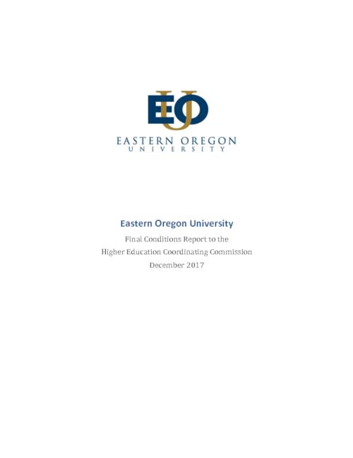 Title from PDF cover (viewed on February 28, 2018)., This archived document is maintained by the State Library of Oregon as part of the Oregon Documents Depository Program. It is for informational purposes and may not be suitable for legal purposes., Mode of access: Internet from the Oregon Government Publications Collection., Text in English.