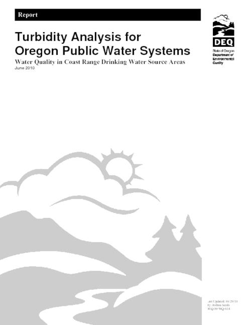 "Title from PDF cover (viewed on March 2, 2018)., ""DEQ 09-WQ-024."", This archived document is maintained by the State Library of Oregon as part of the Oregon Documents Depository Program. It is for informational purposes and may not be suitable for legal purposes., Includes bibliographical references (pages 44-48)., Mode of access: Internet from the Oregon Government Publications Collection., Text in English."