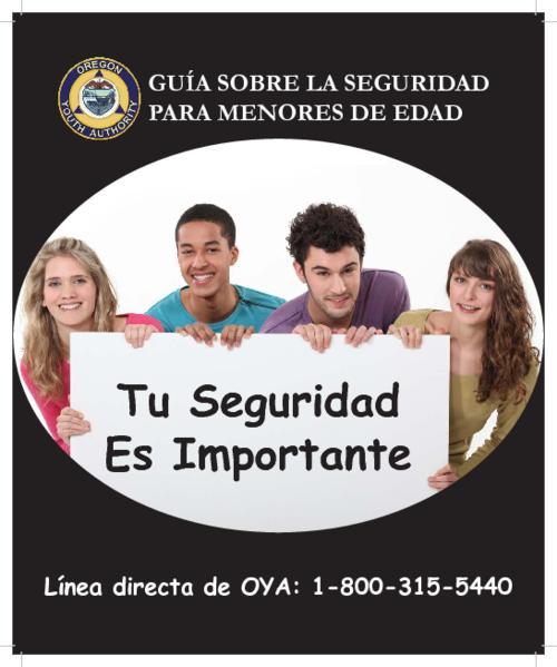 Title from PDF cover (viewed on March 2, 2018)., This archived document is maintained by the State Library of Oregon as part of the Oregon Documents Depository Program. It is for informational purposes and may not be suitable for legal purposes., Mode of access: Internet from the Oregon Government Publications Collection., Text in Spanish.