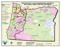Oregon state 113th congressional districts BPA public, tribal and IOU customers...