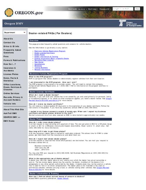 This archived document is maintained by the Oregon State Library as part of the Oregon Documents Depository Program.  It is for informational purposes and may not be suitable for legal purposes., Title from PDF caption (viewed on Oct. 23, 2013), Converted from HTML, Mode of access: Internet from the Oregon Government Publications Collection.