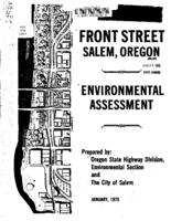 Front Street, Salem, Oregon: environmental assessment
