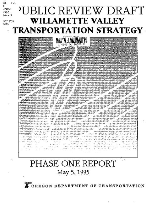"This archived document is maintained by the Oregon State Library as part of the Oregon Documents Depository Program.  It is for informational purposes and may not be suitable for legal purposes., Title from cover, ""May 5, 1995."", Mode of access: Internet from the Oregon Government Publications Collection."