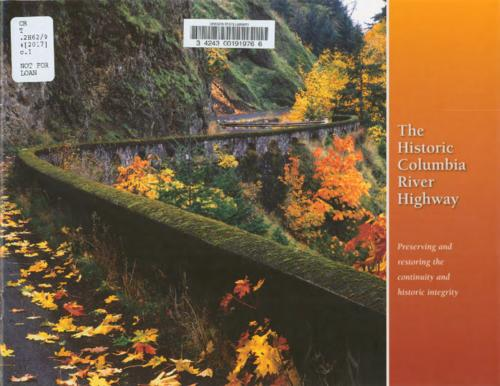"Title from PDF cover (viewed on March 8, 2018)., ""The Historic Columbia River Highway master plan executive summary has been made possible through a parternship of the Oregon Department of Transportation, Oregon Parks and Recreation Department, Oregon State Historic Preservation Office and the Oregon Tourism Commission""--Page 1., This archived document is maintained by the State Library of Oregon as part of the Oregon Documents Depository Program. It is for informational purposes and may not be suitable for legal purposes., Mode of access: Internet from the Oregon Government Publications Collection., Text in English."