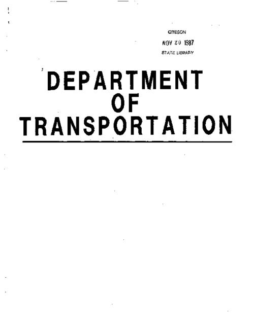 This archived document is maintained by the Oregon State Library as part of the Oregon Documents Depository Program.  It is for informational purposes and may not be suitable for legal purposes., Charts presenting financial needs and goals of the major divisions of the Dept. of Transportation, Title from cover, Mode of access: Internet from the Oregon Government Publications Collection.
