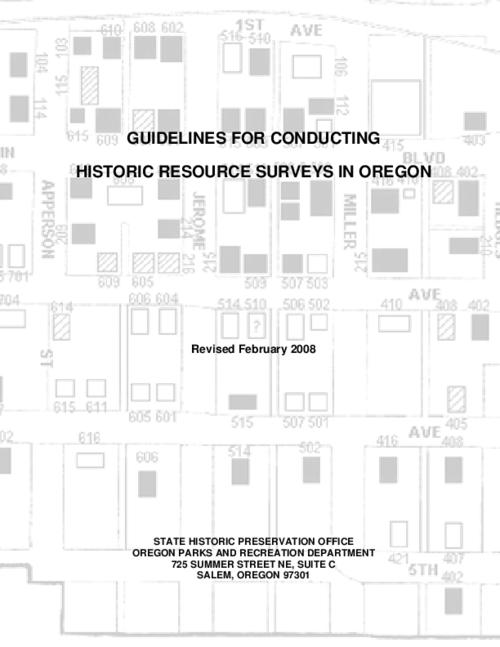 "This archived document is maintained by the Oregon State Library as part of the Oregon Documents Depository Program.  It is for informational purposes and may not be suitable for legal purposes., Title from PDF title page (viewed on Apr. 15, 2010), ""Revised February 2008."", Includes bibliographical references (p. 52), Mode of access: Internet from the Oregon Government Publications Collection."