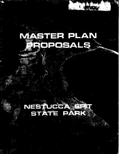 "This archived document is maintained by the Oregon State Library as part of the Oregon Documents Depository Program.  It is for informational purposes and may not be suitable for legal purposes., Title from PDF cover (viewed on May 6, 2013), ""Updating the September, 1974 Master Plan for Nestucca Spit State Park to October, 1980""--P. [50], Mode of access: Internet from the Oregon Government Publications Collection."
