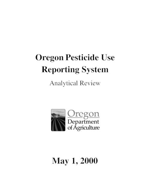 "This archived document is maintained by the Oregon State Library as part of the Oregon Documents Depository Program.  It is for informational purposes and may not be suitable for legal purposes., Title from cover., ""May 1, 2000."", Includes bibliographical references (p. 171-175)., Mode of access: Internet from the Oregon Government Publications Collection."