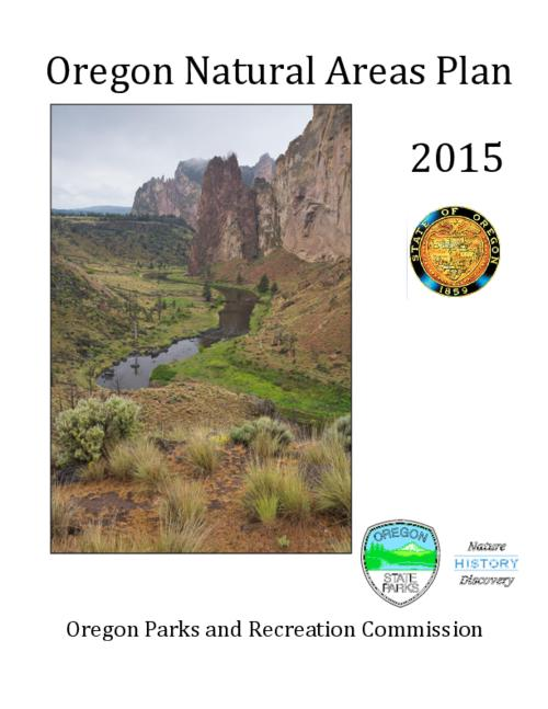 "This archived document is maintained by the Oregon State Library as part of the Oregon Documents Depository Program.  It is for informational purposes and may not be suitable for legal purposes., Title from PDF cover (viewed on October 2, 2015)., ""This is the second Oregon Natural Areas Plan, and the first plan developed under the auspices of OPRD. It is based on the 2010 Natural Areas Plan published by the State Land Board, which was based on the Oregon Natural Heritage Plan, first published in 1981, and revised in 1988, 1993, 1998 and 2003 by the Natural Heritage Advisory Council."", Includes bibliographical references (page 161-163)., Mode of access: Internet from the Oregon Government Publications Collection., Text in English."