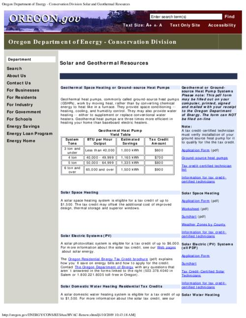 "This archived document is maintained by the Oregon State Library as part of the Oregon Documents Depository Program.  It is for informational purposes and may not be suitable for legal purposes., Title from PDF caption (viewed on May 30, 2014), Converted from HTML, ""Page updated: January 03, 2008""--Page 2, Mode of access: Internet from the Oregon Government Publications Collection., Text in English"