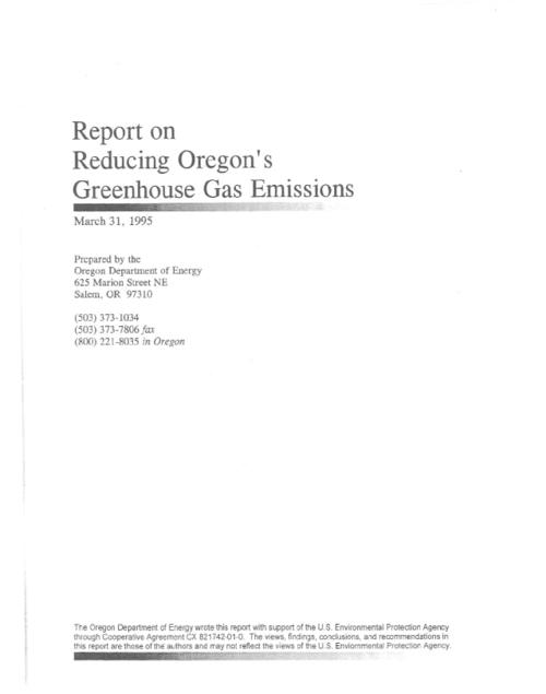This archived document is maintained by the Oregon State Library as part of the Oregon Documents Depository Program.  It is for informational purposes and may not be suitable for legal purposes., Includes bibliographical references, Mode of access: Internet from the Oregon Government Publications Collection.