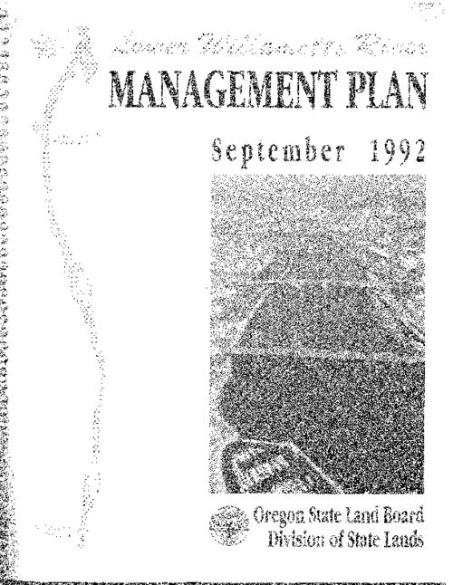 "This archived document is maintained by the Oregon State Library as part of the Oregon Documents Depository Program.  It is for informational purposes and may not be suitable for legal purposes., ""September 1992""--Cover, Includes bibliographical references, Mode of access: Internet from the Oregon Government Publications Collection."
