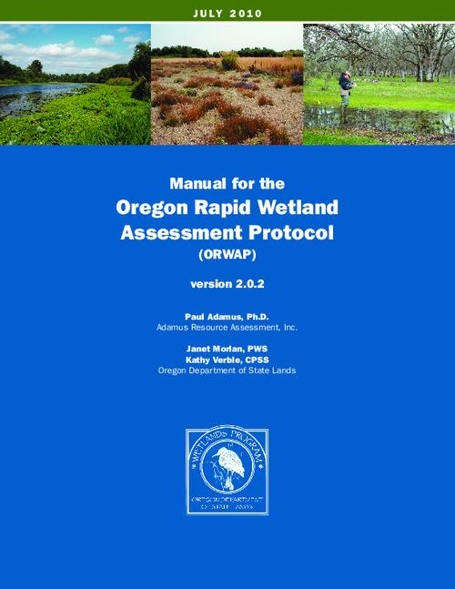 This archived document is maintained by the Oregon State Library as part of the Oregon Documents Depository Program.  It is for informational purposes and may not be suitable for legal purposes., Title from PDF title page (viewed on September 22, 2015)., Includes bibliographical references (page 61-70)., Mode of access: Internet from the Oregon Government Publications Collection., Text in English.