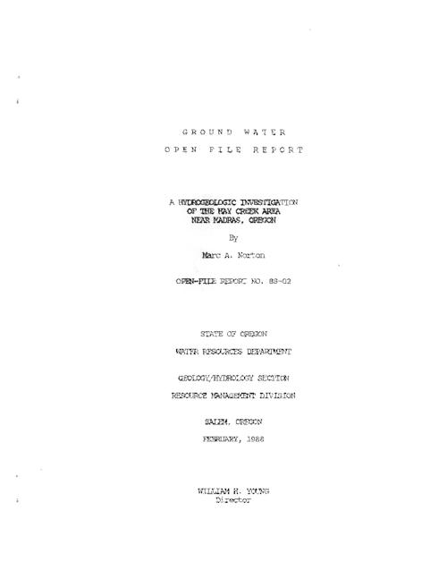 This archived document is maintained by the Oregon State Library as part of the Oregon Documents Depository Program.  It is for informational purposes and may not be suitable for legal purposes., Title from PDF cover (viewed on September 29, 2015)., Includes bibliographical references., Mode of access: Internet from the Oregon Government Publications Collection., Text in English.