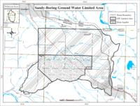 Sandy-Boring ground water limited area