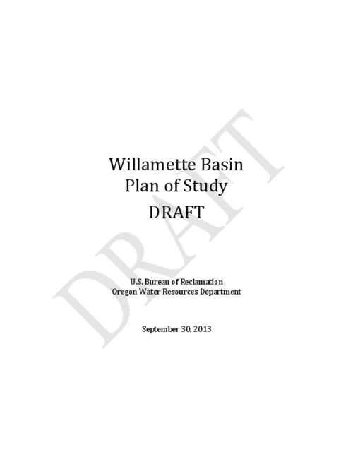 "This archived document is maintained by the Oregon State Library as part of the Oregon Documents Depository Program.  It is for informational purposes and may not be suitable for legal purposes., Title from PDF cover (viewed on June 18, 2015)., ""Draft""--Watemark., Includes slides from a presentation, Willamette water 2100: anticipating water scarcity and informing integrative water system response., Includes bibliographical references (page 20)., Mode of access: Internet from the Oregon Government Publications Collection., Text in English."