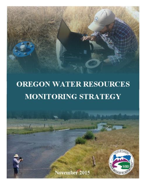 "This archived document is maintained by the Oregon State Library as part of the Oregon Documents Depository Program.  It is for informational purposes and may not be suitable for legal purposes., Title from PDF cover (viewed on January 4, 2016)., ""The Oregon Water Resources Department's (Department) Monitoring Strategy positions the Department to evaluate the effectiveness of the current monitoring network of stream gages and observation wells. In addition, this Monitoring Strategy is being developed to identify monitoring priorities and to guide the design of the monitoring network into the future""--Page 1., Includes bibliographical references (page 19)., Mode of access: Internet from the Oregon Government Publications Collection., Text in English."