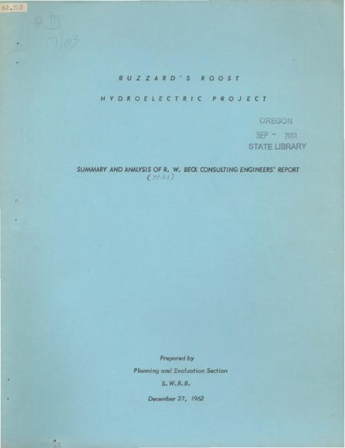 This archived document is maintained by the Oregon State Library as part of the Oregon Documents Depository Program.  It is for informational purposes and may not be suitable for legal purposes., Title from cover., Includes a number of maps of the Rogue River Drainage Basin showing isohyetal, water rights, irrigated regions, dam locations, mineral deposits and fish spawning areas., Mode of access: Internet from the Oregon Government Publications Collection., Text in English.