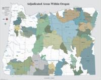 Adjudicated areas within Oregon