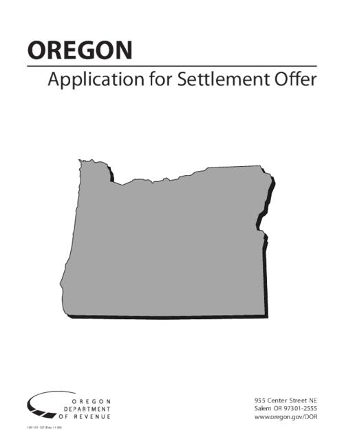 "This archived document is maintained by the Oregon State Library as part of the Oregon Documents Depository Program.  It is for informational purposes and may not be suitable for legal purposes., Title from PDF title page (viewed on May 18, 2009), ""150-101-157 (Rev. 11-06)."", Mode of access: Internet from the Oregon Government Publications Collection."
